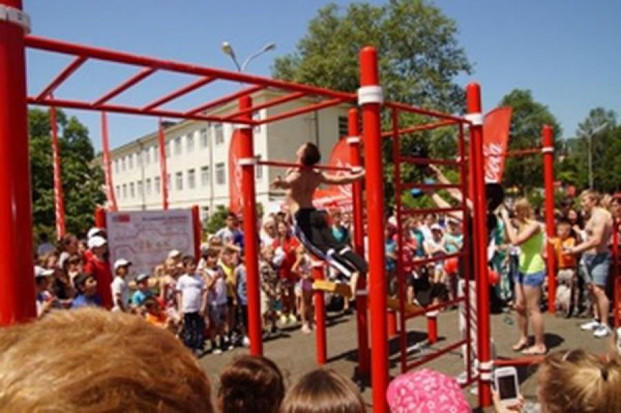 Площадки для уличных тренировок появятся в Твери