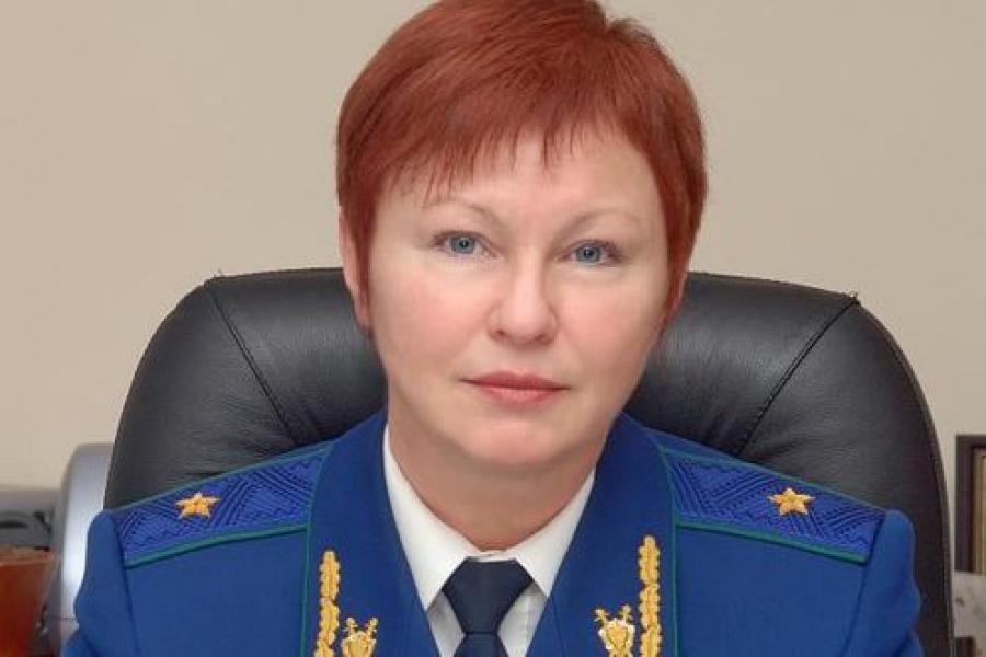 Вера Солдатова освобождена от должности Волжского межрегионального природоохранного прокурора