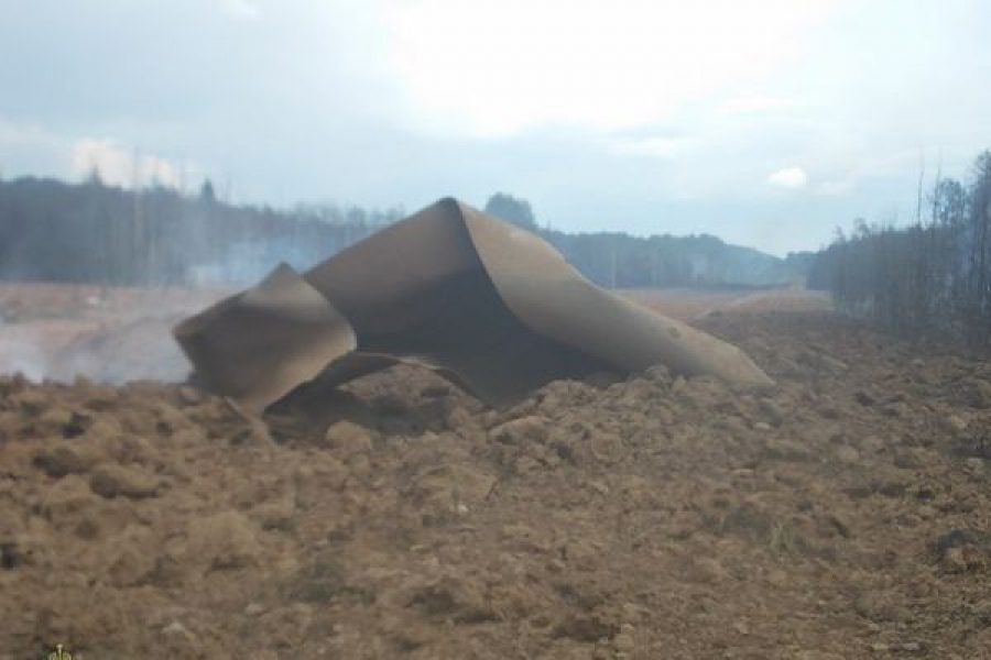 В Торжокском районе произошел разрыв газопровода