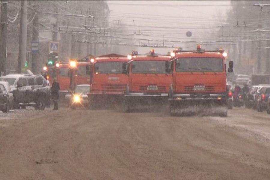 На Тверскую область надвигаются шквальный ветер и снег