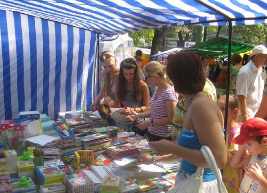 Школьный базар появится у фонтана в Твери 16 августа