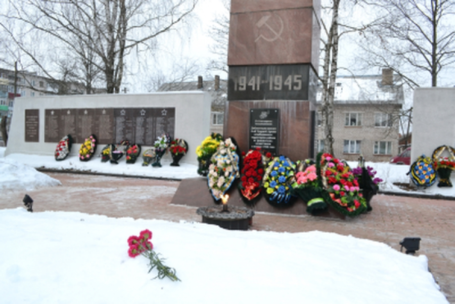 Торопец отметил годовщину освобождения от фашистов