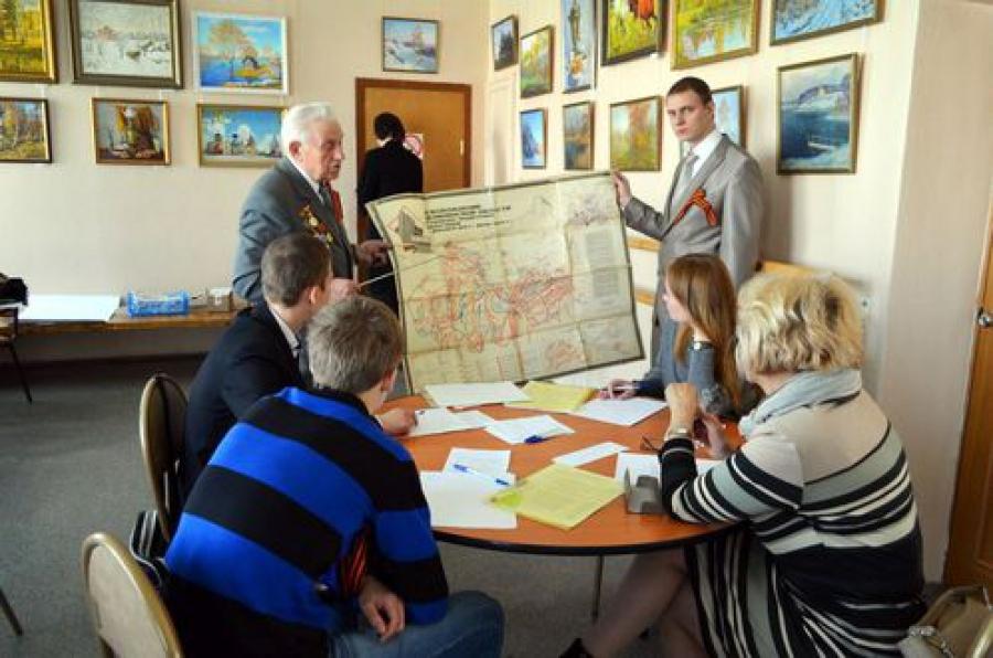 На молодёжном слёте в Твери стартовал городской этап акции «Георгиевская ленточка»