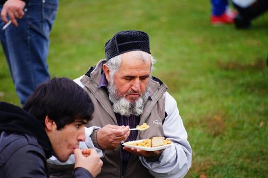 Тверские мусульмане отметили Курбан-байрам за городом