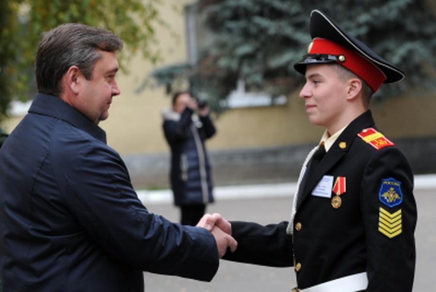 Суворовцы признаны лучшими кадетами Тверской области