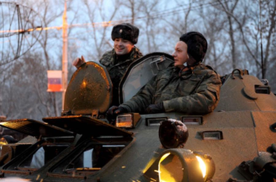 Всероссийская «Вахта памяти» завершилась в Ржеве