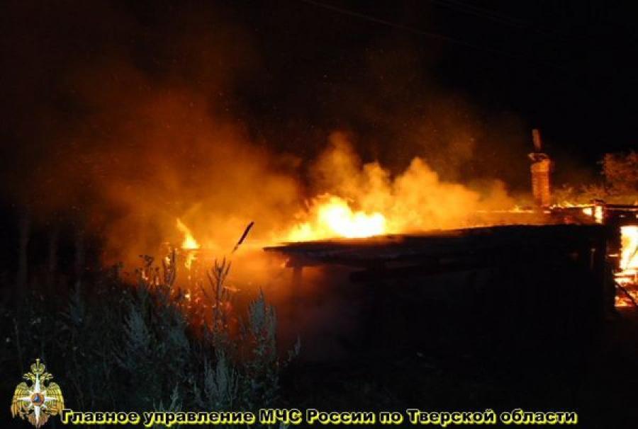 В Калининском районе на пожаре погиб человек