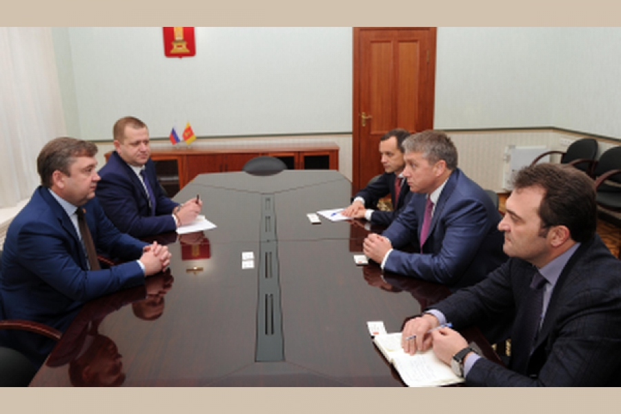 Губернатор встретился с руководителем филиала ОАО «МРСК Центра» — «Тверьэнерго»
