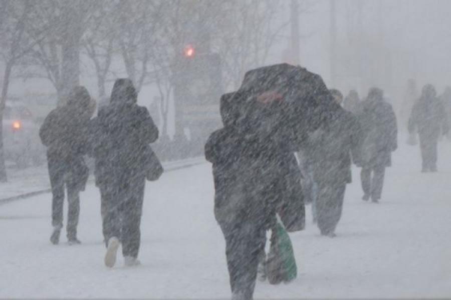 Снегопады пришли в Тверскую область
