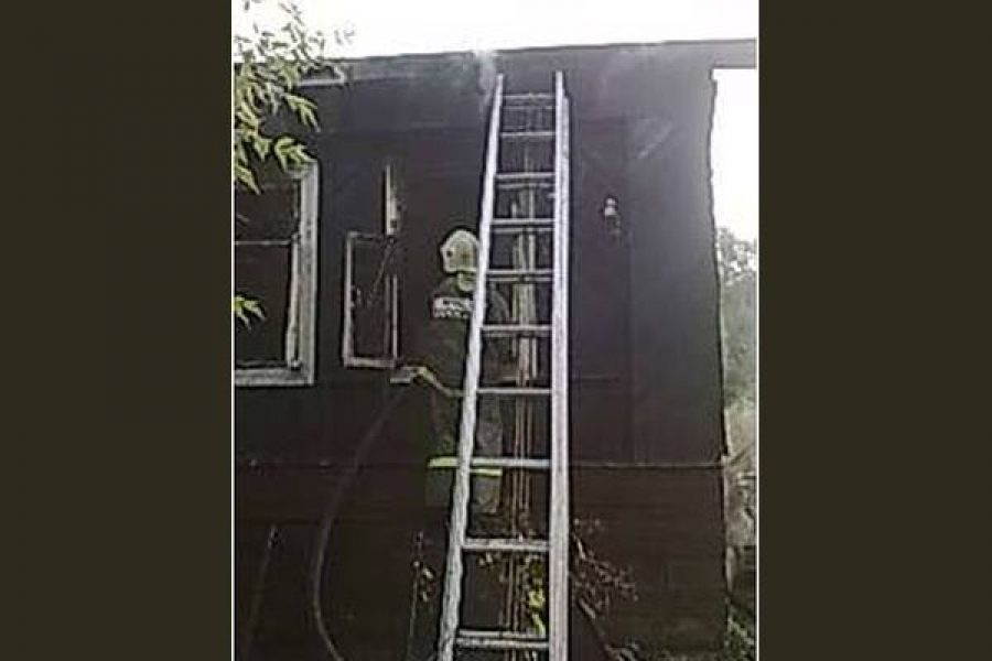 В Бежецке при пожаре пострадали люди