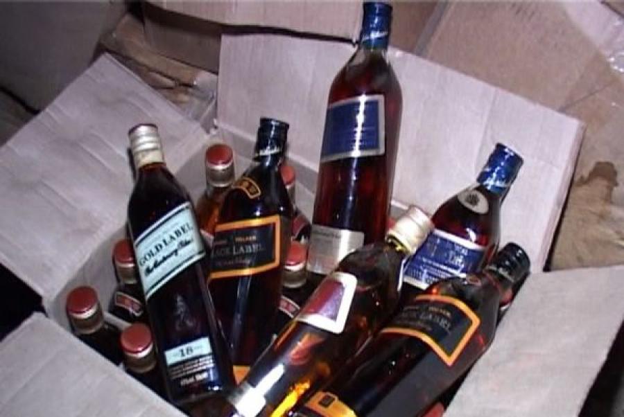 «Левый» алкоголь продавали в Твери