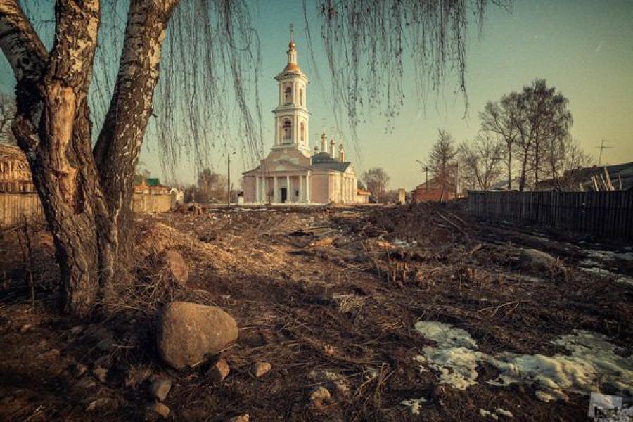 Кимрский храм — на одной из лучших фотографий России