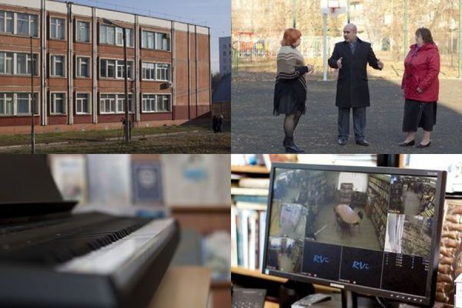 Средства депутатского фонда пошли на школу и библиотеку
