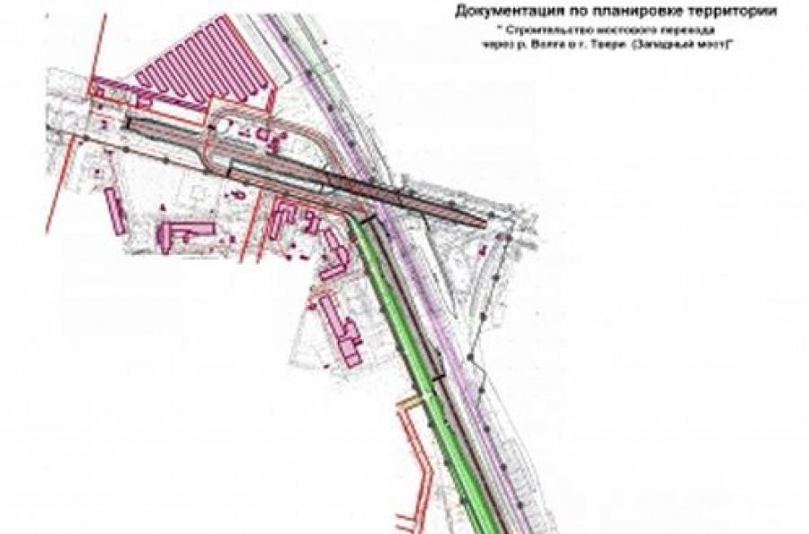 Западный мост в Твери в 2014 году строить не начнут