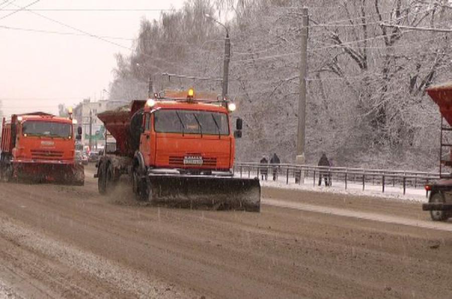 Коммунальщикам рекомендовали чистить улицы Твери в штатном режиме даже в праздники