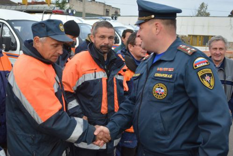 С Дальнего Востока вернулись тверские спасатели