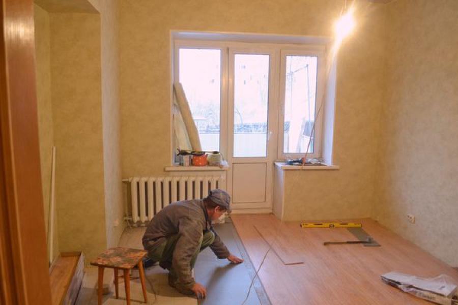 В Твери заканчиваются ремонтные работы в доме, где обрушилась кровля