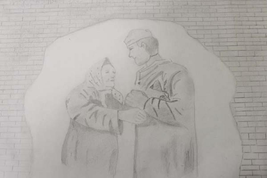 Дети сотрудников УФСИН нарисовали освобождение Калинина