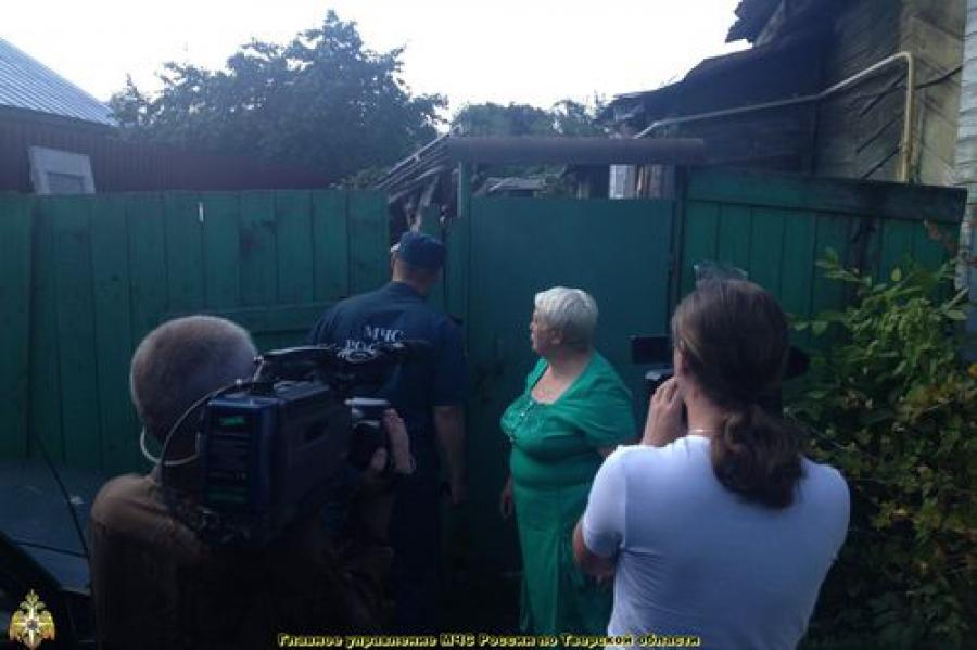 С жителями частного сектора Заволжья побеседовали сотрудники МЧС
