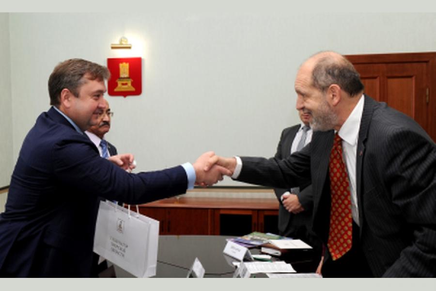 Австрийские бизнесмены заинтересованы в сотрудничестве с Тверской областью