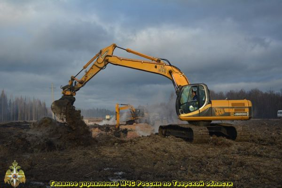 Ремонтные работы на поврежденном газопроводе в Торжокском районе завершены