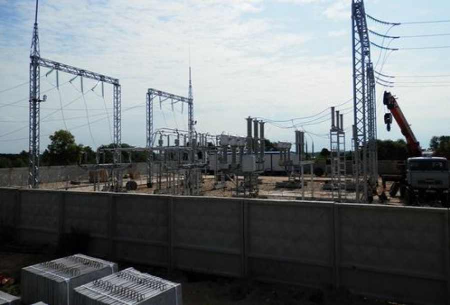 Индустриальный парк в Удомельском районе: заканчивается строительство подстанции