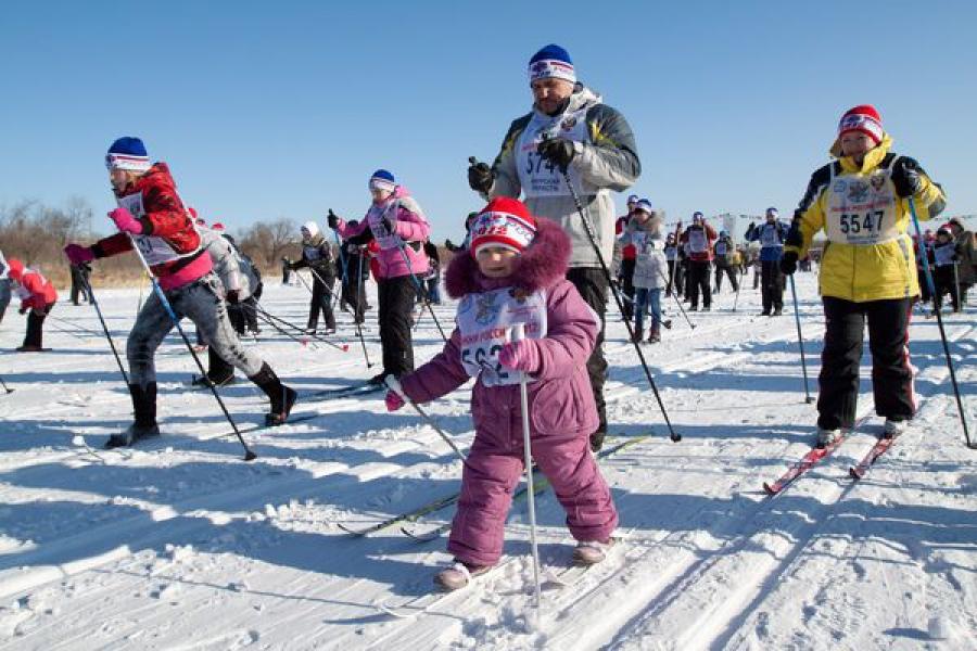 «Лыжня России» — теперь на новом месте