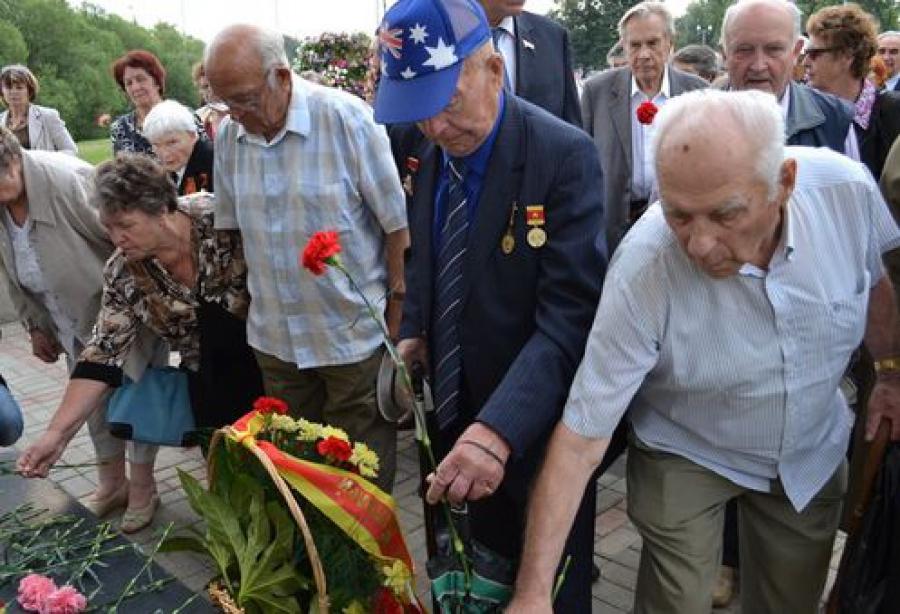 В Твери отметили 70-летие Курской битвы