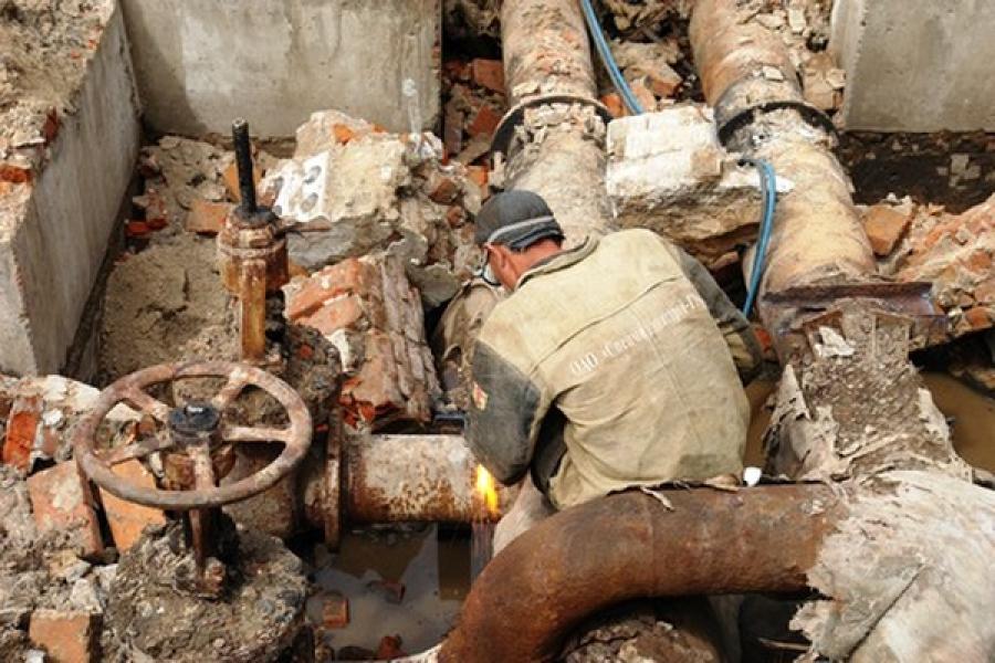 В Твери 8 декабря ведется ремонт теплотрасс на 9 участках