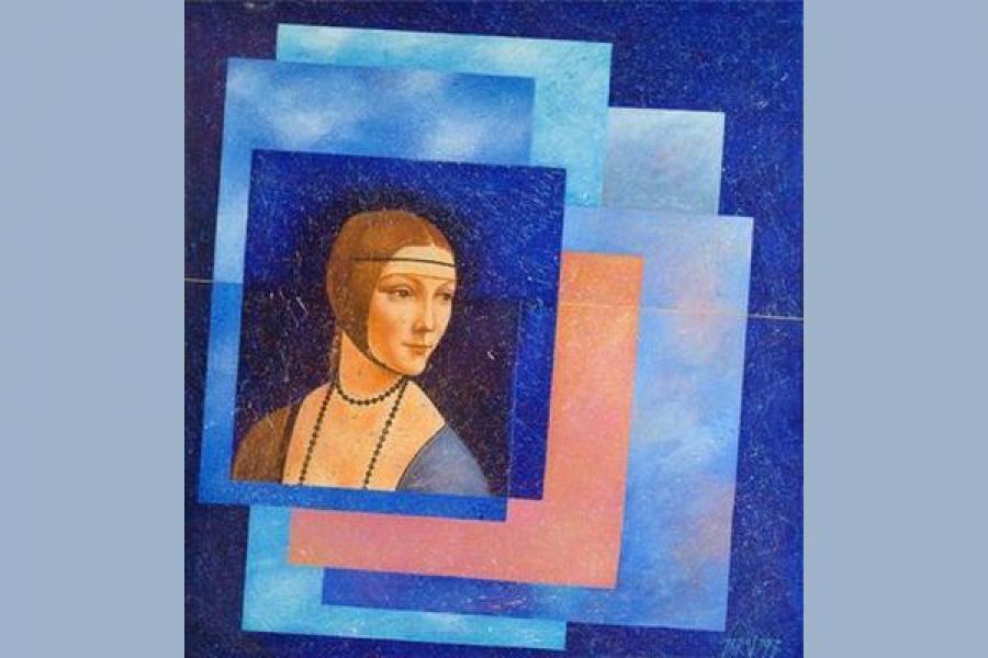 Словацкая художница показала свое видение полотен мастеров эпохи Ренессанса