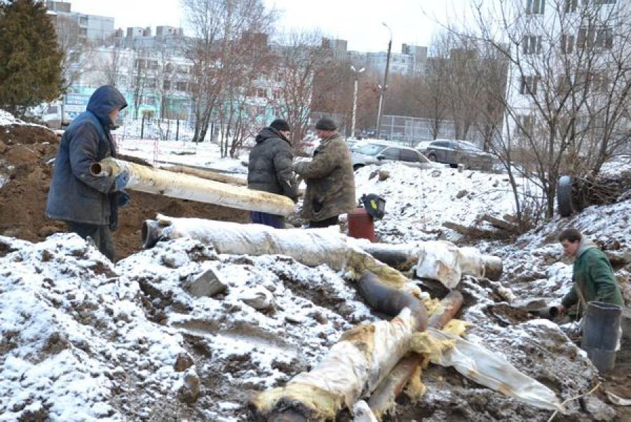 В Твери завершается ремонт теплосетей с применением энегоэффективных технологий