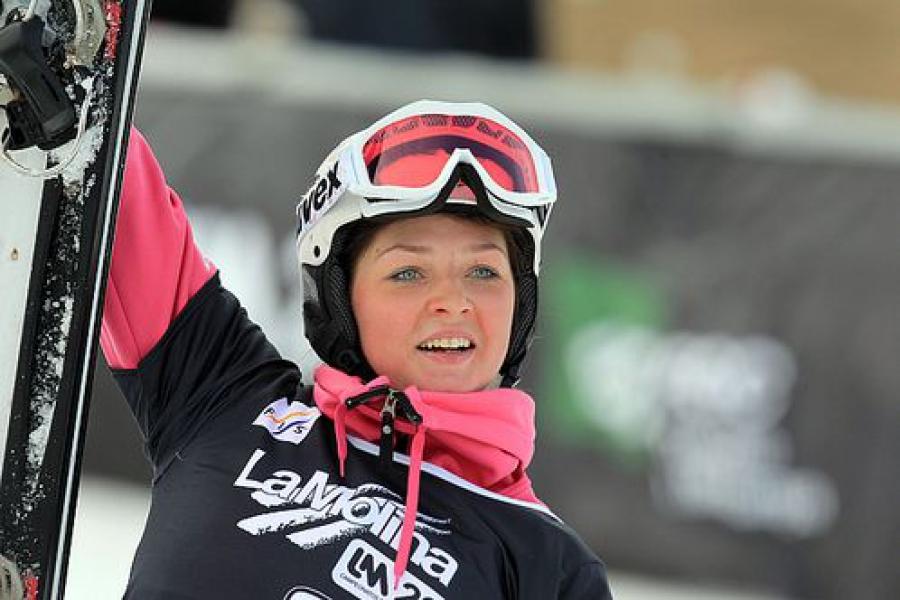Сноубордистка Алена Заварзина завоевала олимпийскую «бронзу»