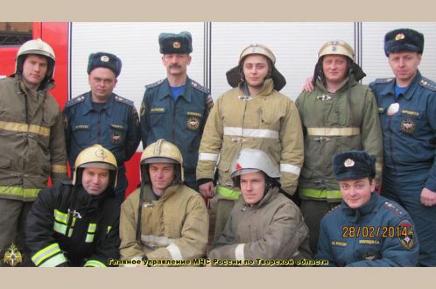 Тверских пожарных благодарят жители