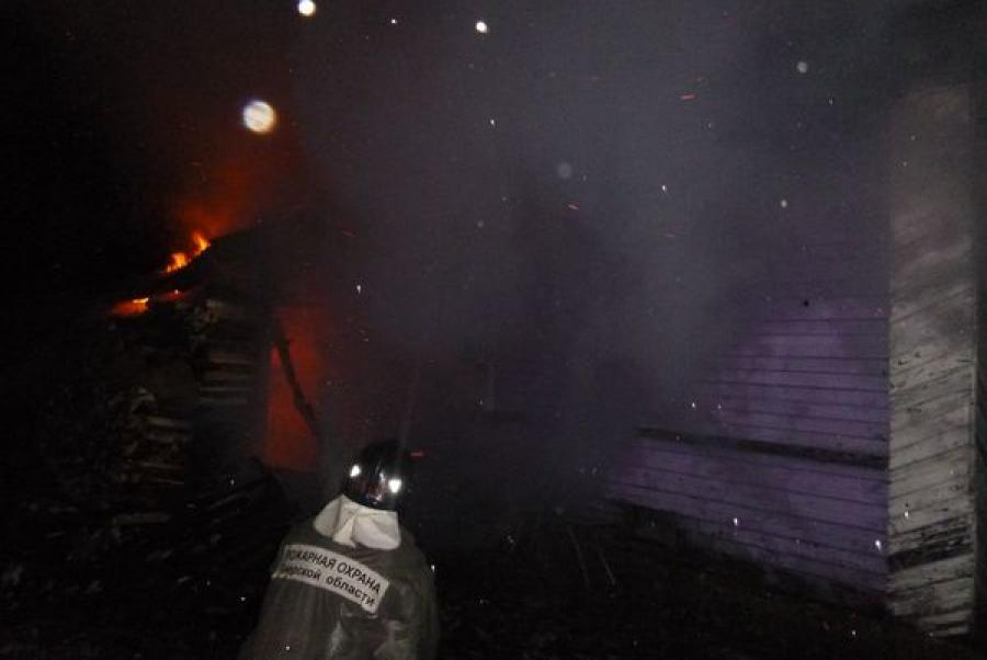 Неисправная электропроводка привела к пожару в Городне