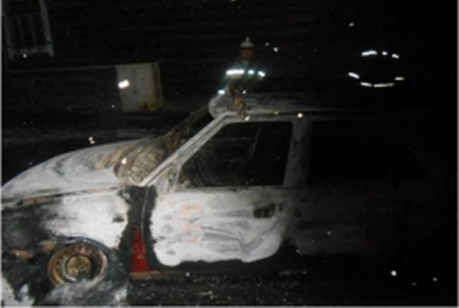 В Тверской области сгорели дом и автомобиль