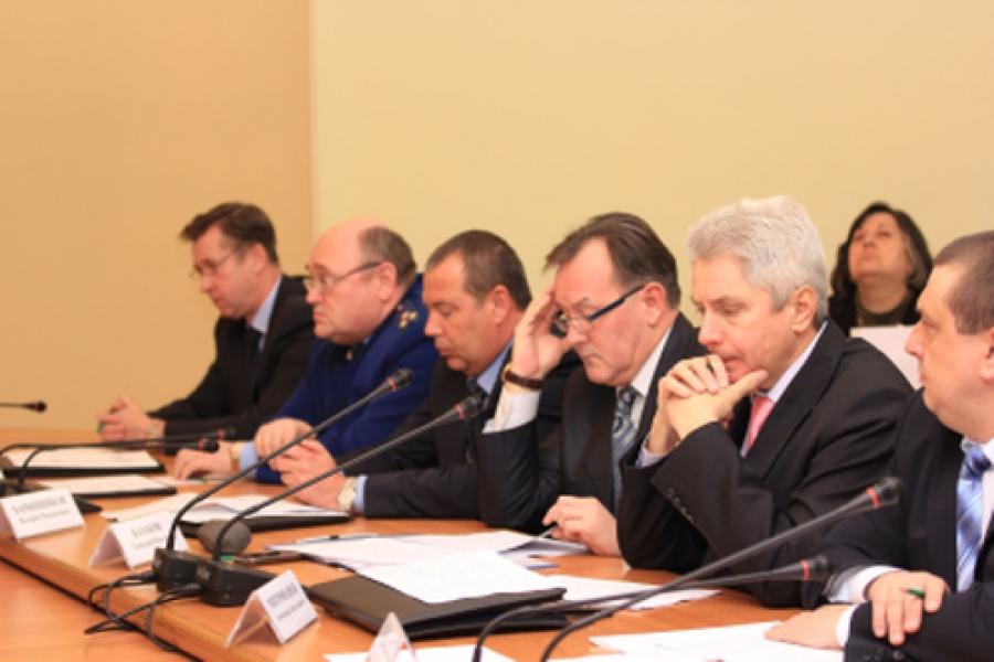 В правительстве области обсудили итоги борьбы за правопорядок