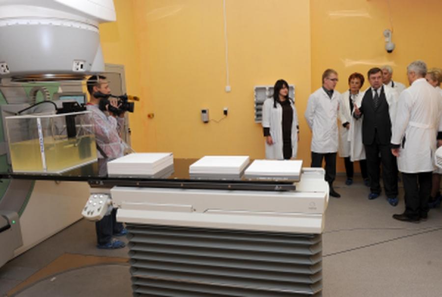 Блок лучевой терапии открыт в Тверском областном онкодиспансере