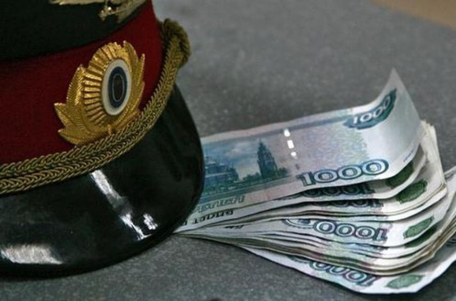 За взятку в 40 тысяч рублей задержан сотрудник полиции