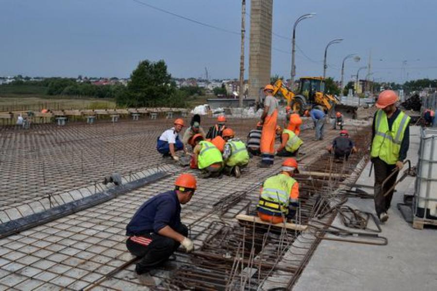 Ремонт Восточного моста в Твери ведется в штатном режиме