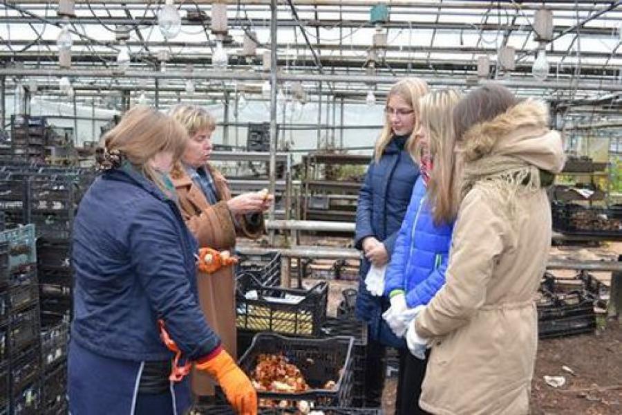 Юных садоводов учат в «Зеленстрое»
