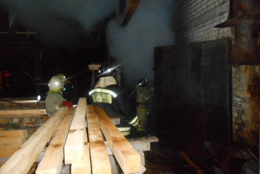 В Максатихе за несколько часов произошло два пожара