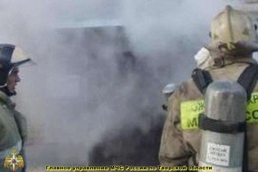 В Твери произошёл пожар в котельной