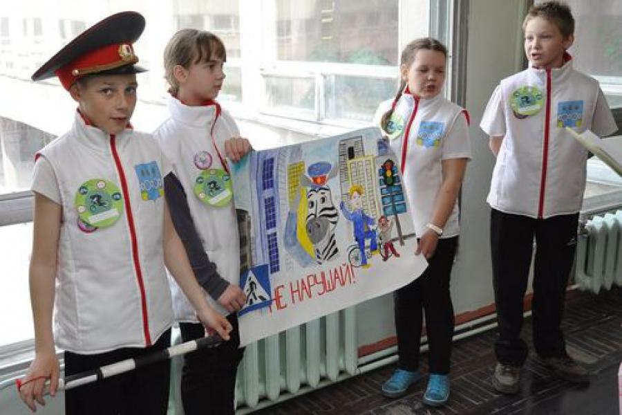 Юные инспектора из Бологое поедут на Всероссийский конкурс «Безопасное колесо»