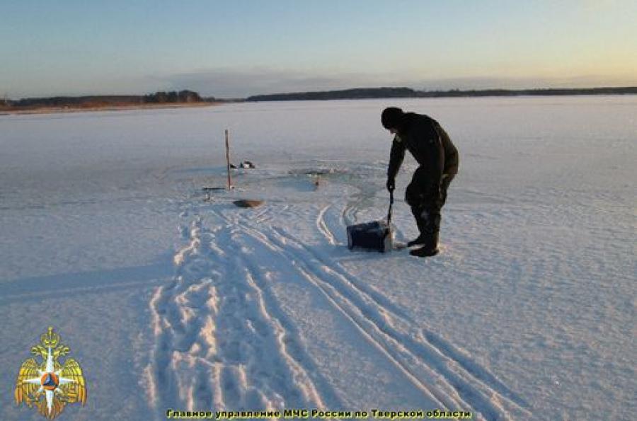 На реке Шоше на льду погиб мужчина