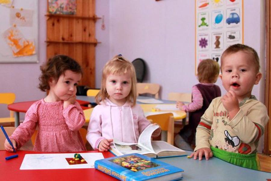 В Тверской области 38,6% детей ясельного возраста посещают детсады