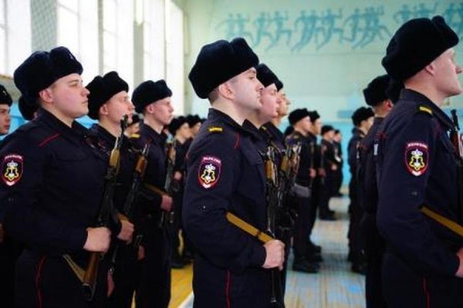 Ряды тверских полицейских пополнили 120 выпускников Центра профессиональной подготовки УМВД