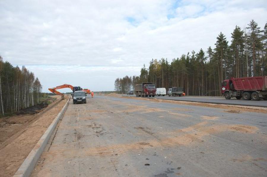При подготовке территории к строительству трассы М-11 найдены останки бойцов, павших в годы ВОВ
