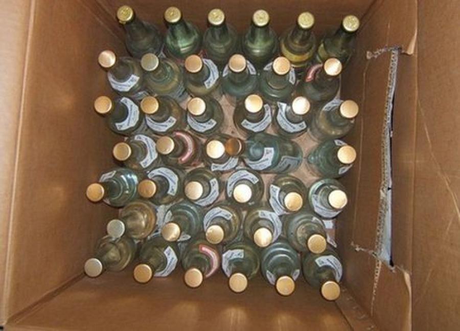 Более 1500 л нелегального алкоголя изъяли в Тверской области за три дня
