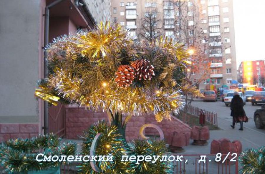В Твери определили наиболее празднично украшенные дома