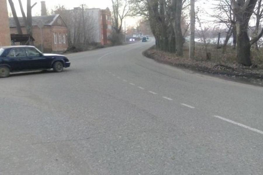 В Вышнем Волочке водитель скрылся с места ДТП